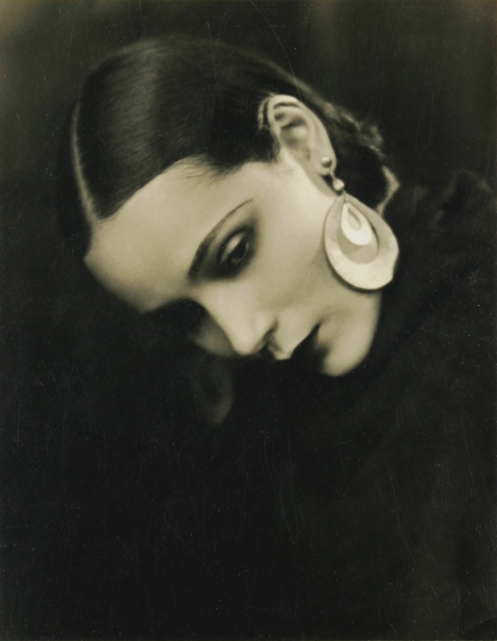Portrait of the Latino actress Dolores Del Rio, 1930s by George Cannons