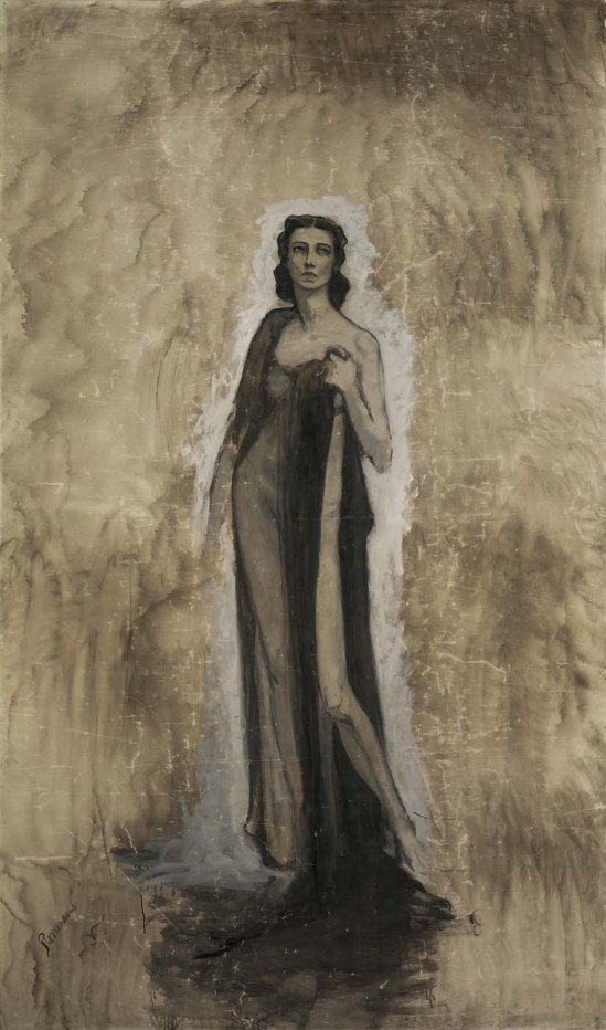 Romaine Brooks - Esquisse d'Ida Rubinstein, 1912