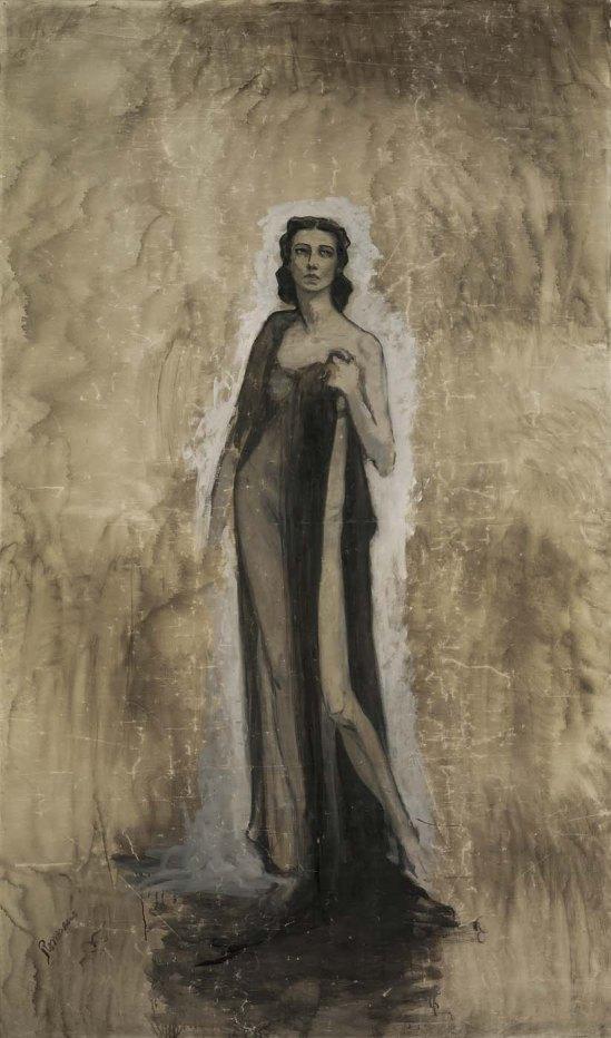 Romaine Brooks - Esquisse d'Ida Rubinstein, 1912