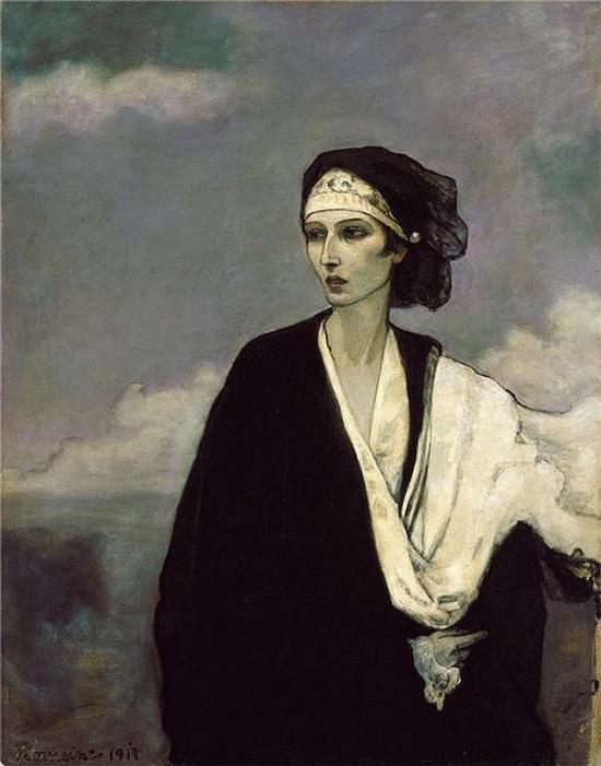Romaine Brooks Ida Rubinstein 1917 - Copie