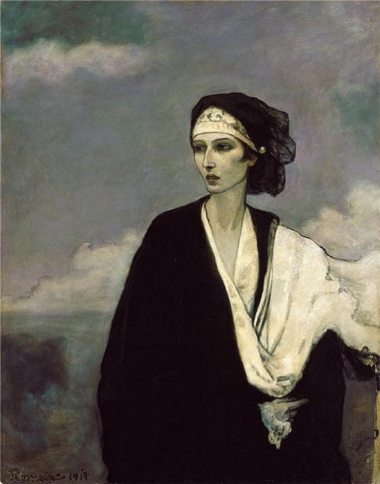 Romaine Brooks Ida Rubinstein 1917 - Copie