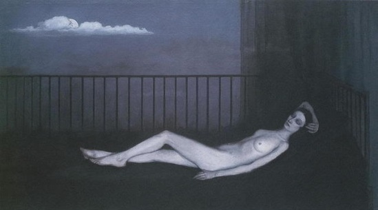 Romaine Brooks- La Venus Triste, 1914