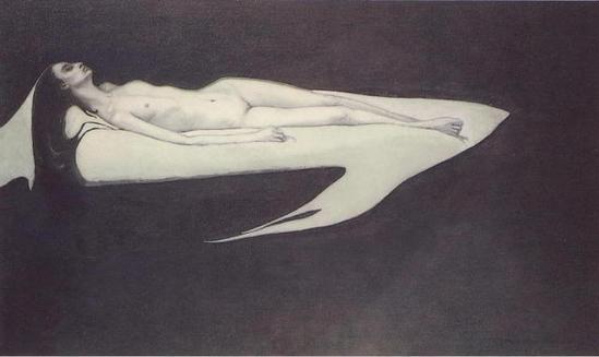 Romaine Brooks-Le Trajet, 1911