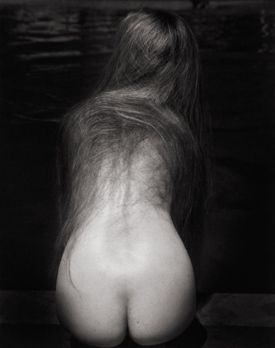 Ruth Bernhard -At the Pool, 1951