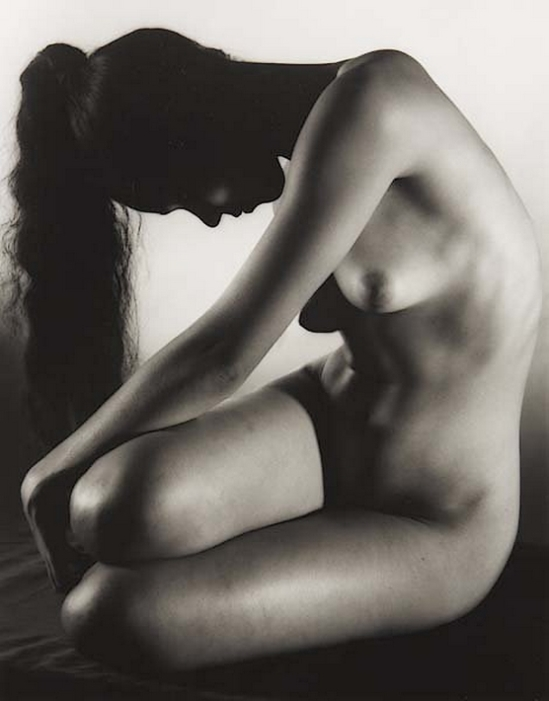 Ruth Bernhard- Carmen, dancer in repose, 1951 from eternal body