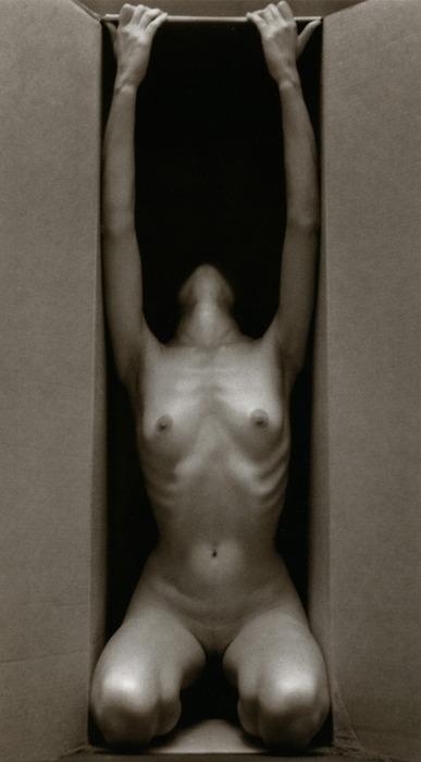 Ruth Bernhard - In the Box, Vertical, 1962