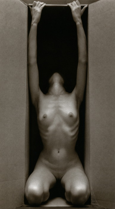 Ruth Bernhard - In the Box, Vertical, 1962