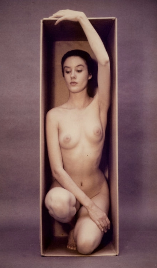 Ruth Bernhard Nude in Box, 1962 from eternal body