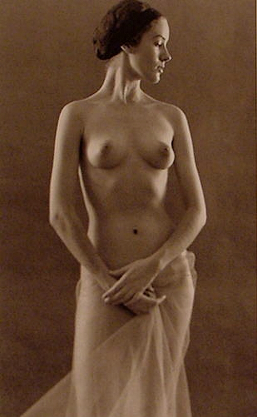 Ruth Bernhard- Profile, 1967 From The Eternal Body