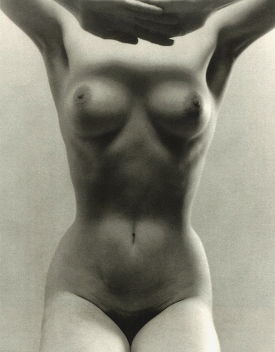 Ruth Bernhard - Seated Figure, 1972.