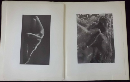 Ruth Bernhard Two plates from porfolio of 6 Nudes by Ruth Bernhard,printed in 1968 1
