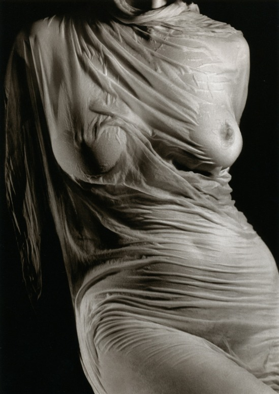 Ruth Bernhard- Wet Silk, 1938