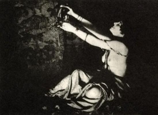 Lejaren A Hiller -The Wine of Columbine - Photogravure , 1915
