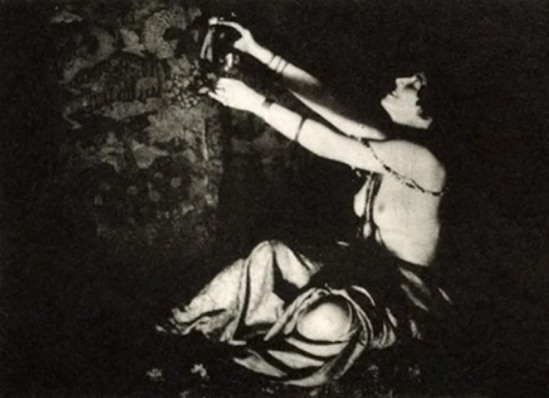 Lejaren A Hiller -The Wine of Columbine - Photogravure , 1915