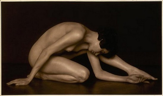 Trude Fleischmann-Akt study, 1925