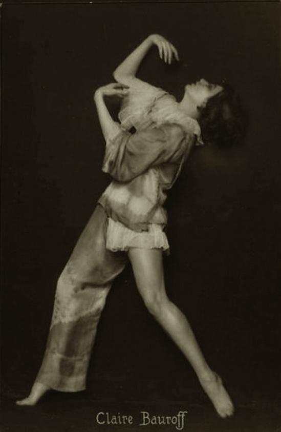 Trude Fleischmann -Claire Bauroff,1925-1928