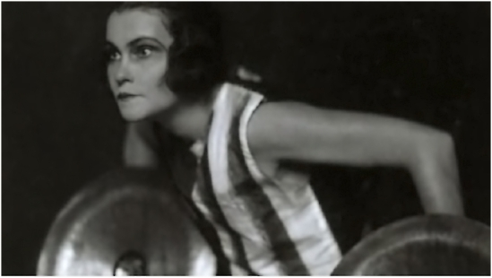 Trude Fleischmann- The dancer Berta Reidinger, 1929