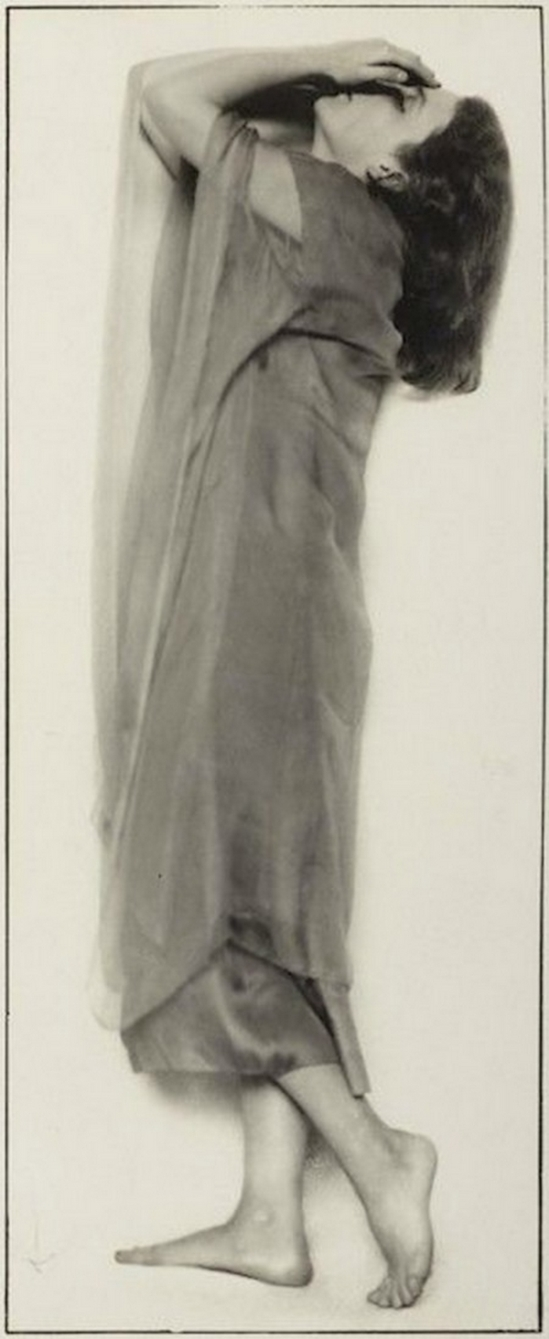Trude Fleischmann-The dancer Niddy Impekoven, Vienna, 1927