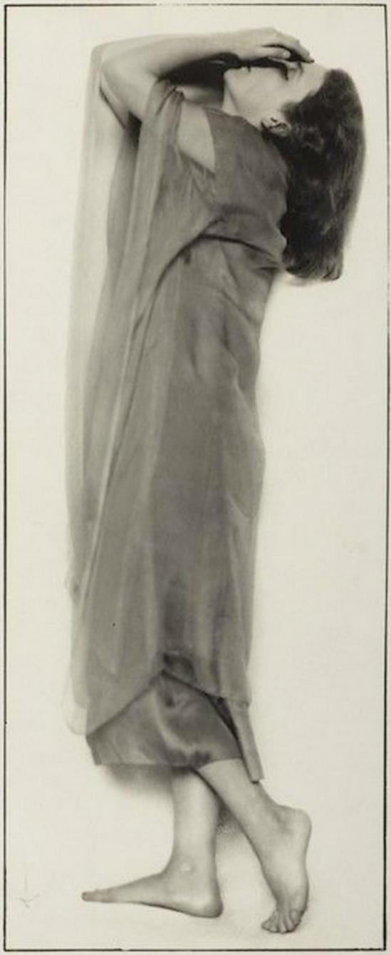 Trude Fleischmann-The dancer Niddy Impekoven, Vienna, 1927