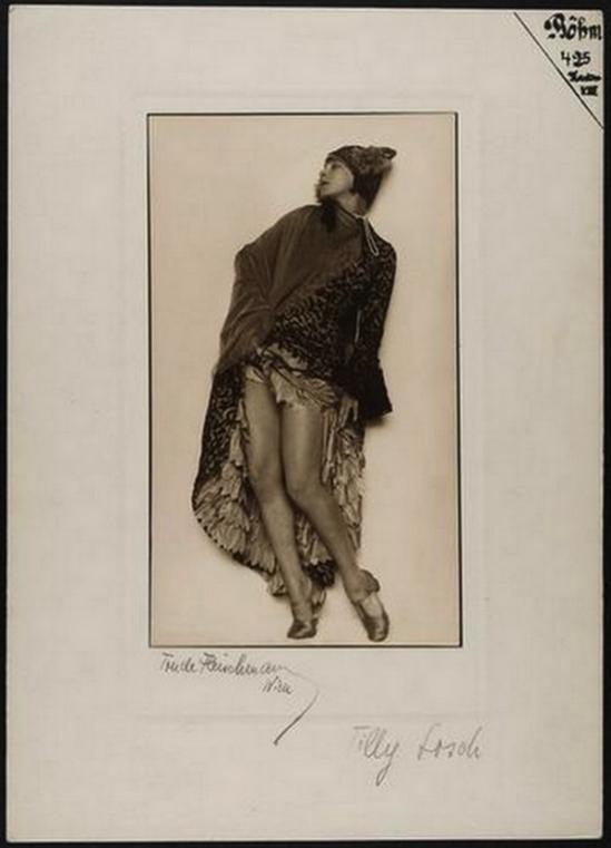 Trude Fleischmann -Tilly Losch 1930