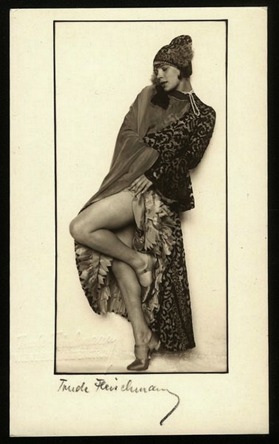 Trude Fleischmann -Tilly Losch 1929-30