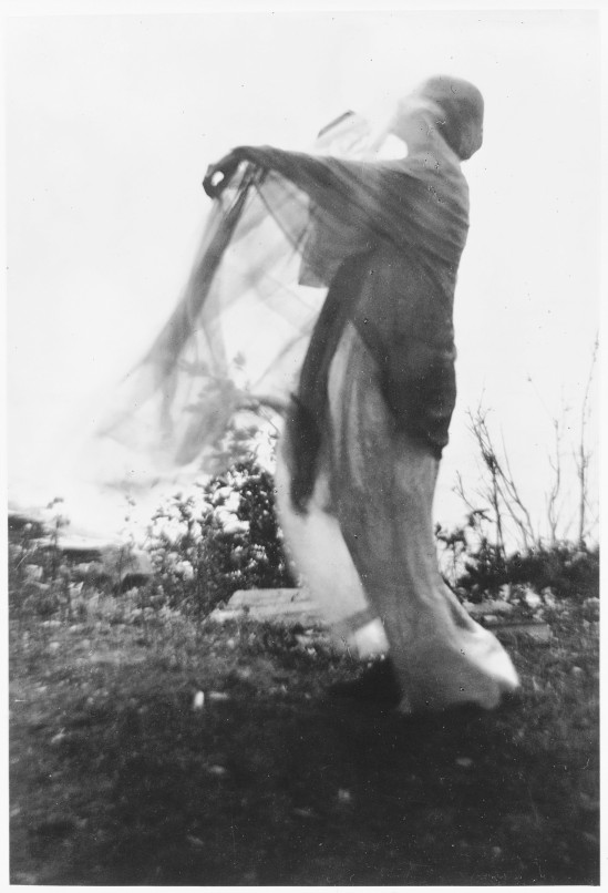 Imogen Cunningham- The Wind, 1910.