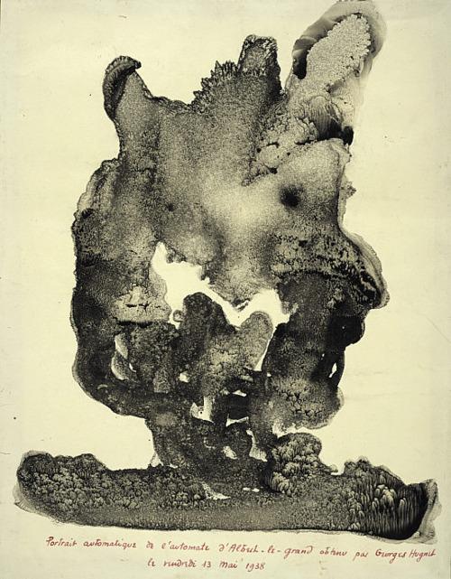 Georges Hugnet, Automatic Portrait of the Automaton of Albertus Magnus, 1938