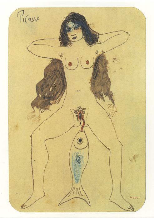 Pablo Picasso -Le maquereau, 1902-1903