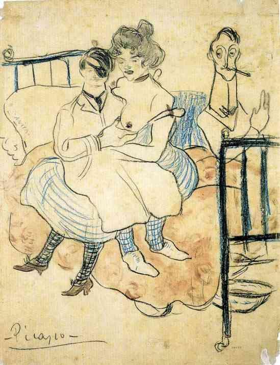 Pablo Picasso - Anita,  1892-1906
