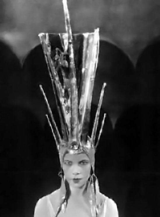 Unknown photographer - Dancer Tillie Losch wore this art deco headdress in one of Cochran's intimate,  London revues, 1930s