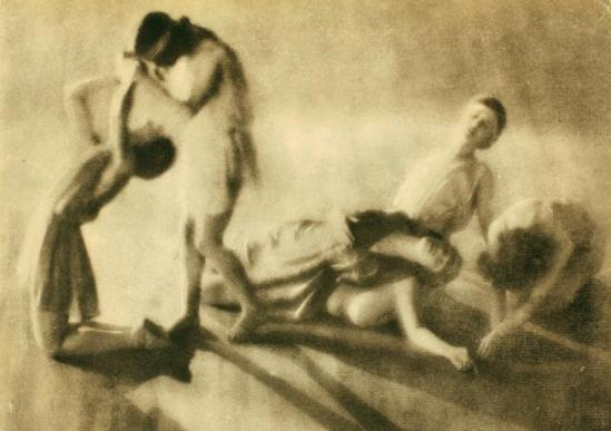 Arthur F. Kales. Denishawn Dancers Beethoven's Sonata Pathetique, 1919