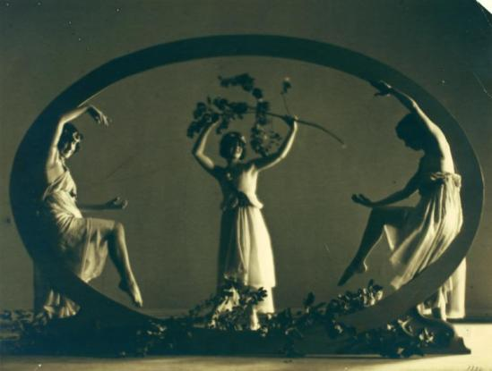 Arthur F. Kales- The Denishawn Dancers, (Doris Humphrey, Betty May, Claire Niles), 1919