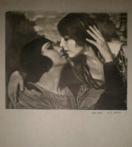 Arthur F. Kales - The Kiss, (from Photograms of the Year ),1928