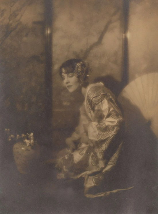 Charles J. Cook - Woman in a Kimono, c. 1910