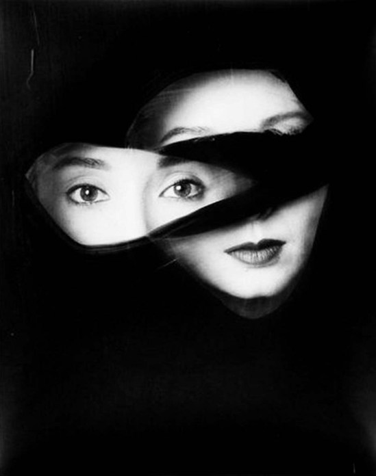 David Seidner- Adelle Lutz, A new face, 1986