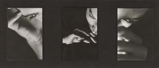 David Seidner- [Triptych, eyes], 1980