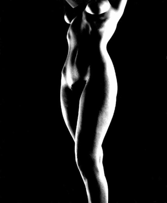 Ferenc Berko- Female nude study. 1940