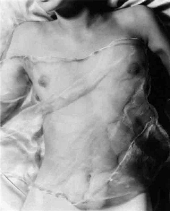 Ferenc Berko nude under veil, bombay 1943