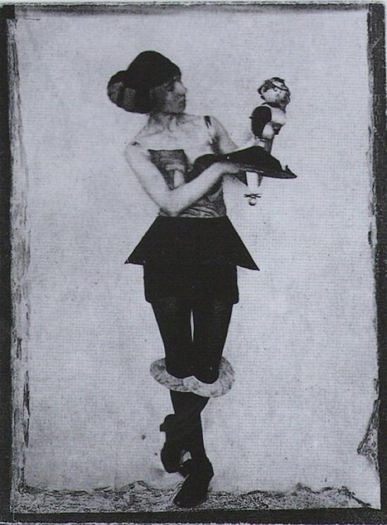Hannah Hoch, DADA Dolls ,1925 from Dadaism Dietmar Elger tashen edition