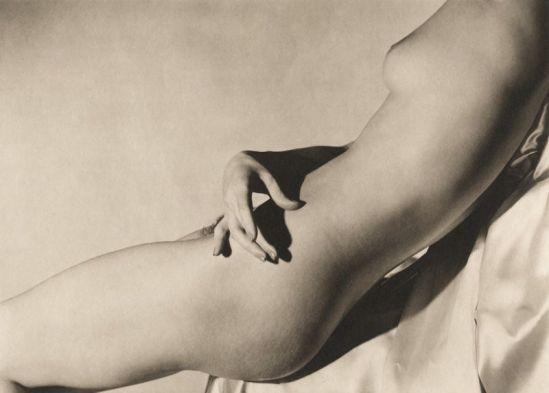 Horst P Horst Lisa on Silk Hand on Torso I, 1940.