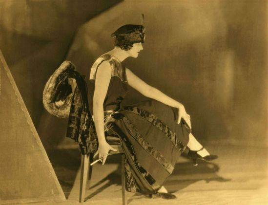 James Abbe - Natacha Rambova 1920's