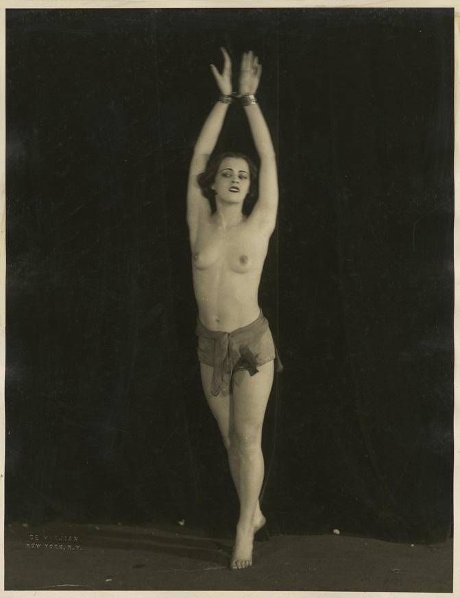 John De Mirjian- Dancer in topless, 1926