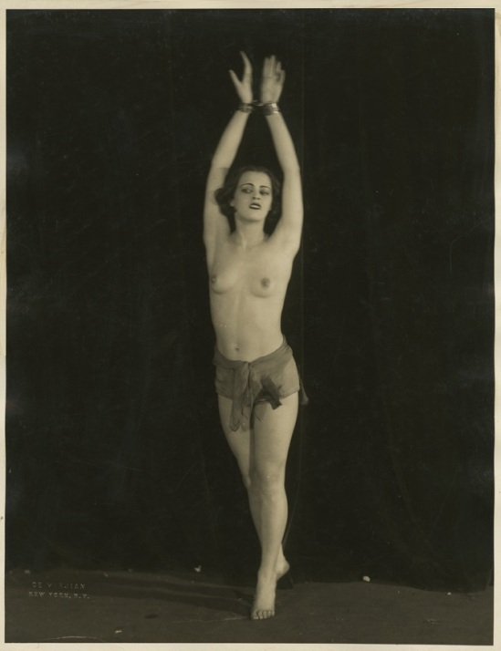 John De Mirjian- Dancer in topless, 1926