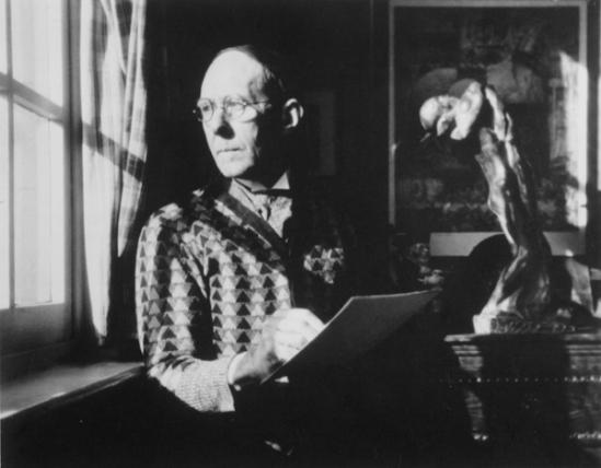 Portrait de Jules De Bruycker vers 1940s