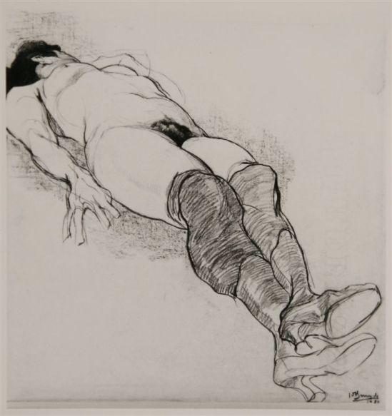 Jules De Bruycker- naakt, 1920 Dessins - Drawings