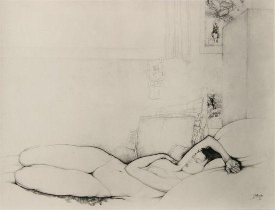 Jules De Bruycker- naakt, ( dessin)