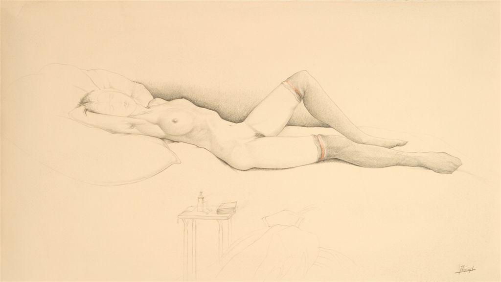 Jules De Bruycker- naakt, Dessins - Drawings 15 - Copie