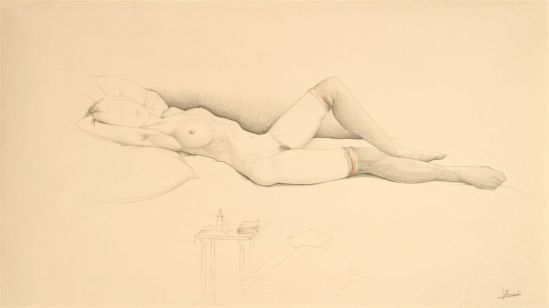 Jules De Bruycker- naakt, Dessins - Drawings 15 - Copie