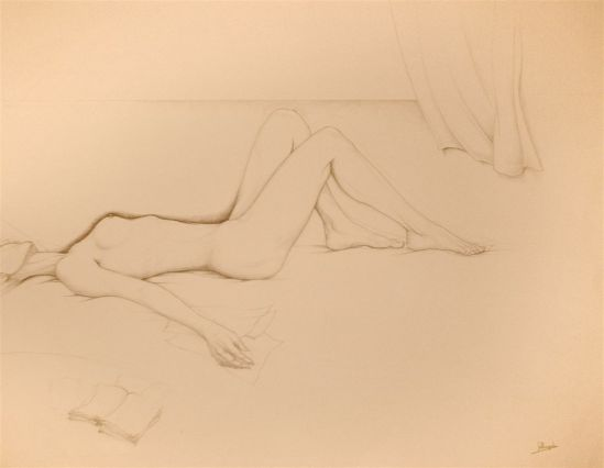 Jules De Bruycker- naakt, Dessins - Drawings