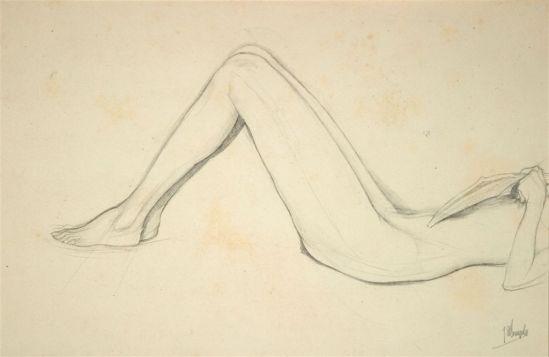 Jules De Bruycker- naakt, NdDessins - Drawings